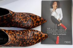 Next Leopard Ankle Boots | Dilemmas   I have a bit of a head block when it comes to leopard print footwear. It always feels a bit 'out there' and that aule cow Bet Lynch is partly to blame. I think for me she made 'full on' leopard print middle aged & desperate and I cringe when people use terms to describe leopard that include her name! No I am not wearing a 'bit of Bet' today...because that just makes me feel like I've 'TRAGIC' tattooed across my forehead.  Don't get me wrong I do like…