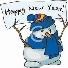 happy new year snowman snowman clipart snowman cartoon happy new year signs happy