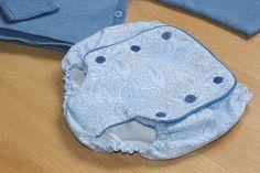 Tutorial de cubre pañales o braguitas de bebé (patrones gratis) | Oh, Mother Mine DIY!! | Bloglovin'