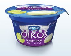 Key Lime Oikos Greek yogurt. Love it!  I love lime, and this is the only lime yogurt I can find around here!