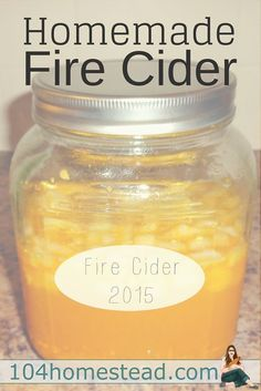 Homemade Fire Cider: After the initial shock at such a powerful taste, I was amazed by how quickly the Fire Cider went to work. By the next morning, I felt better than I had in days.