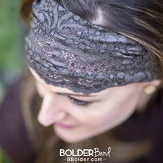 Bolder Band Headband in Fancy Bands stay put so you won't have to -- guaranteed!