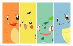 Pokemon ~ I printed these on nice paper and am going to use them as bookmarks :)