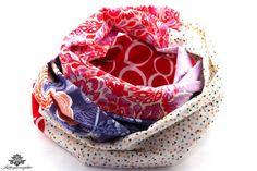 Loop Schal Tuch in lila und pink - ganz unkompliziert Dein Kleid aufpeppen ;) ... Aus der #Lieblingsmanufaktur