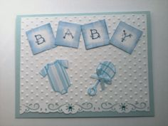 card baby blue
