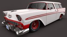 1956 Chevrolet Nomad by SamCurry