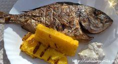 Grilled sea bream / dorada la grătar
