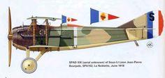 Spad XIII, Sottotenente Leon Jean-Pierre Bourjade, SPA-152, La Noblette, giugno 1918.