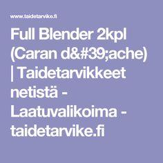 Full Blender 2kpl (Caran d'ache)   Taidetarvikkeet netistä - Laatuvalikoima - taidetarvike.fi