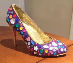 Confessions of a glitter addict - 2014 bejeweled Muses shoe