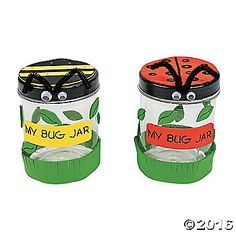 Celebrate spring with this My Bug Jar Craft Kit!  Make a plastic bug jar to hold insects and kids will have have endless fun in their backyards collecting ...