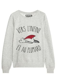 """Sweat """"Vers l'infini"""" Taille S 39€"""