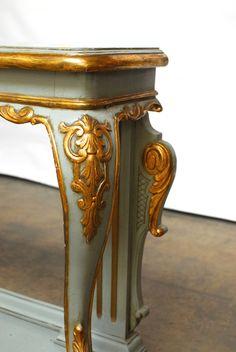 Konzolasztal, antik bútor Decor, Furniture, Shabby Chic, Side Table, Shabby, Table, Home Decor, Vintage Designs, Vintage