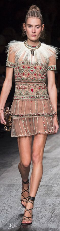 """Spring 2016 Ready-to-Wear Valentino """"And the LORD said to Moses, """"Go to the people and consecrate them today and tomorrow. Have them wash their clothes."""" Exodus 19:10"""