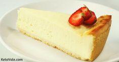 Low Carb New York Cheesecake Follow @KetoVale #atkinsdietdesserts