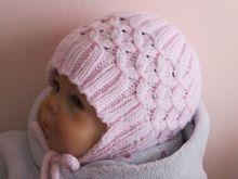 Strickanleitung für Babymütze mit Ohrenklappen