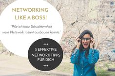 Networking, 5 Tipps