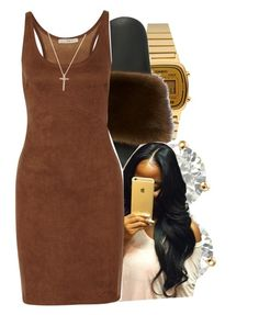 """""""6/10/16"""" by lookatimani ❤ liked on Polyvore featuring Casio, Givenchy, Auriya, Halston Heritage and Nephora"""