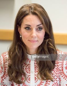 Catherine Duchess of Cambridge during a visit to Sheway a charity that helps vulnerable mothers battling issues such as addiction during their Royal...