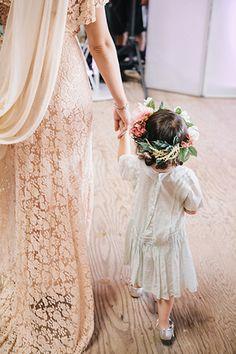 mini 'maid | woodland wedding