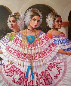 Obra del pintor panameño Luis Córdoba