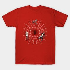 A Spiders Web T-Shirt - Spider-Man T-Shirt is $14 today at TeePublic!