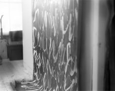 Sally Mann's Loving Study of Cy Twombly's Last Years - The New Yorker Sally Mann Photos, Sally Mann Photography, Cy Twombly, The New Yorker, Photo Booth, Study, Tapestry, Fine Art, Black And White