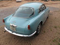 1957 ALFA ROMEO GIULIETTA SPRINT - (750 series) by Carrozzeria Bertone of Turin.