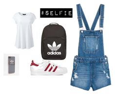 """""""Untitled #152"""" by rubixkube11 on Polyvore featuring Lands' End and adidas"""