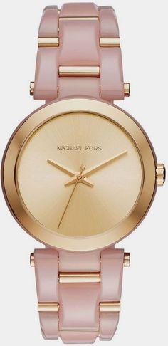5b5a3a290fc9 Michael Kors Rose and Gold Watch  michaelkorshandbags  womenhandbags Urban  Jewelry