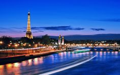 Eiffel Tower and Pont Alexandre III at night in Paris France. - Eiffel Tower and Pont Alexandre III at night. France Wallpaper, Paris Wallpaper, City Wallpaper, Paris Torre Eiffel, Paris Eiffel Tower, Eiffel Towers, Paris At Night, Hotel Paris, Paris City