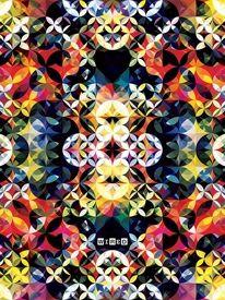 Art / Andy Gilmore Bright Geometric Pattern