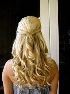 How to: Sexy Half-up Hairstyle