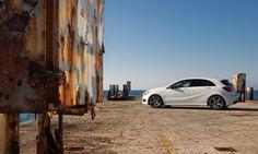 Mercedes-Benz A-Class. Fuel consumption combined: 6,4-3,6 l/100km, CO2 emissions combined: 148-92 g/km. #MBCars