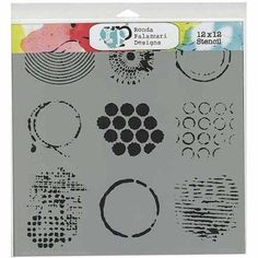 Westcott Lettering ALG-1 Stenciling Paper Template
