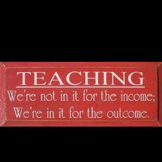 Every teacher should read this on a daily basis.
