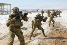 71 best military images on pinterest armed forces history and 10th mountain division conduct live fire range training with an m4 carbine at forward operating malvernweather Images