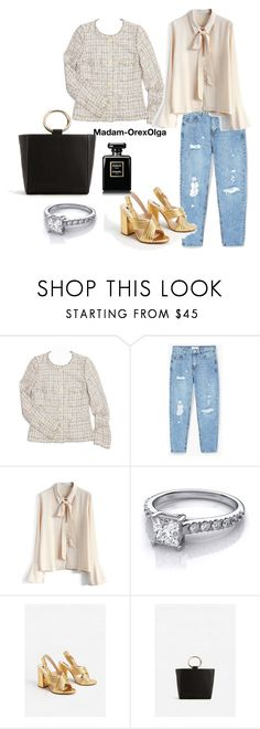 """Jacket 5"" by lailamur on Polyvore featuring мода, Chanel, MANGO и Chicwish"