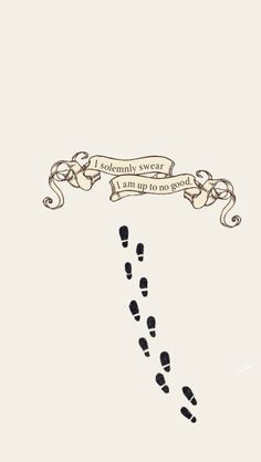 Marauder's Map. I solemnly swear I am up to no good. Lockscreen, swipe a certain pattern