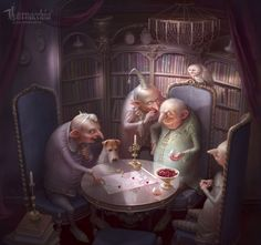 Cornacchia is an artist and illustrator coming from Russia focusing her work around the fantastical and tragic stories that fairy tales offer. Her work is absolutely stunning. If you like fairytale art and bosoms, make sure to scroll through!