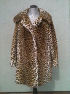 Vintage 1960's Lepoard Print Faux Fur Ladies by TheIDconnection, $275.00   Vintage 1960's Lepoard Print Faux Fur Ladies Coat http://TheIDconnection.etsy.com retro 60's fashion design & style  http://etsy.me/SOsPJf via @Emily Stromberg
