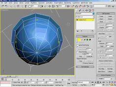 3DsMax5   14강 Edit Ploy,Mesh 개념 설명 2