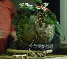 Demonstratie bloemschikken door Albert Greveling - Weblog Staphorst
