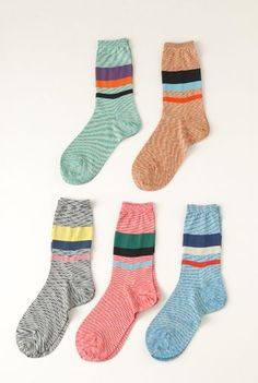 SS12 SPACE DYED ANKLE SOCKS - VARIOUS