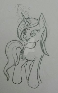 Crystal Gaze - Sketch by EyesoreForTheBlind.deviantart.com on @DeviantArt