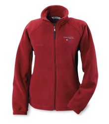 Columbia Full-Zip Fleece Jacket - Great employee incentive item  #4imprint