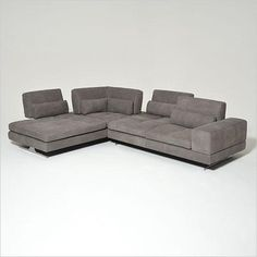 Blues Sectional - with adjustable backs, Italian made - Scan Design $8,000 Furniture   Modern and Contemporary   Florida