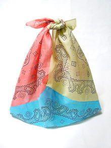 Remake of 3 Zanarizu eco bag to make with bandana