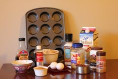 Full-screen Sugar Free Healthy Breakfast Muffins May 2015 Directions oven to 350 degrees. Sugar Free Muffins, Healthy Foods, Healthy Recipes, Healthy Breakfast Muffins, Apple Sauce, Flaxseed, Sugar Free Recipes, 2 Eggs, Rolled Oats