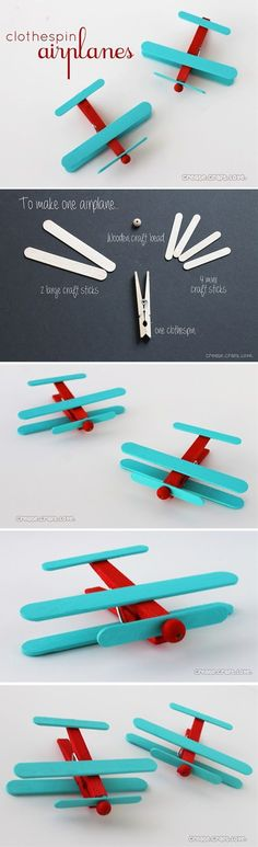 13 Creative Projects To Do With Clothespins | Postris
